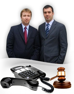Luc SImard and Xavier Cormier, lawyers